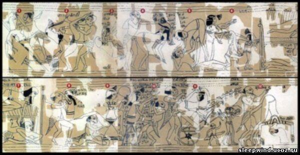 Сексуальная жизнь и эротика в Древнем Египте.